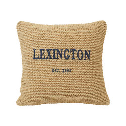 Lexington Paper Straw Pillow Cover, Natural, Lexington