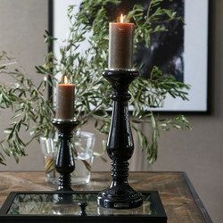 Prince Street Candle Holder L, Riviera Maison