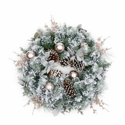 Merry Everything Christmas Wreath 60cm, Riviera Maison
