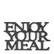 Enjoy Your Meal Trivet black, Riviera Maison