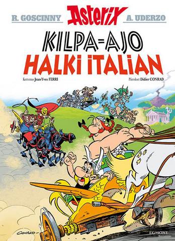 Asterix 37: Kilpa-ajo halki Italian
