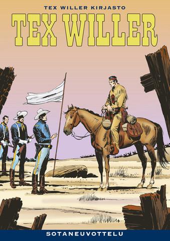 Tex Willer Kirjasto 43: Sotaneuvottelu