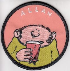 Fingerpori-kangasmerkki: Allan Kurma