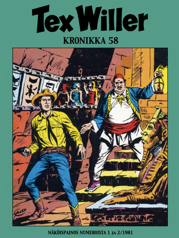 Tex Willer Kronikka 58
