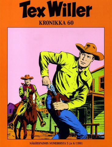 Tex Willer Kronikka 60