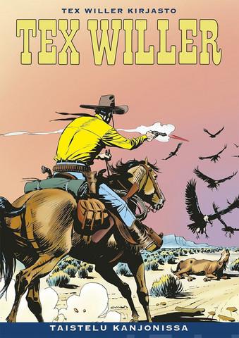 Tex Willer Kirjasto 58: Taistelu kanjonissa