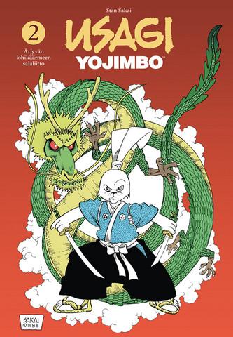 Usagi Yojimbo 2 – Ärjyvän lohikäärmeen salaliitto ENNAKKOTILAUS