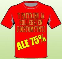 ALE-paidat -75%