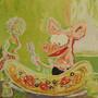 Viivi ja Wagner -serigrafia: Pizza
