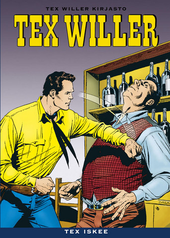 Tex Willer Kirjasto 14: Tex iskee