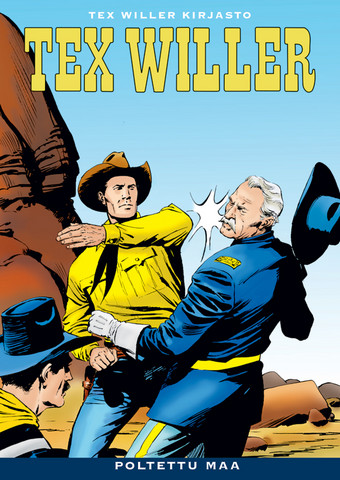 Tex Willer Kirjasto 26: Poltettu maa