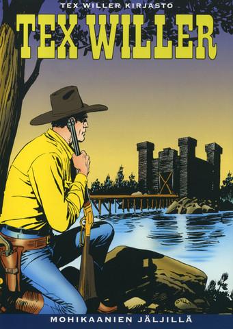 Tex Willer Kirjasto 27: Mohikaanien jäljillä