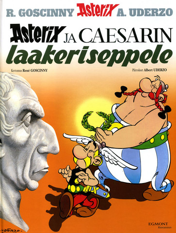 Asterix 18: Caesarin laakeriseppele