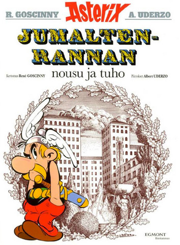 Asterix 17: Jumaltenrannan nousu ja tuho