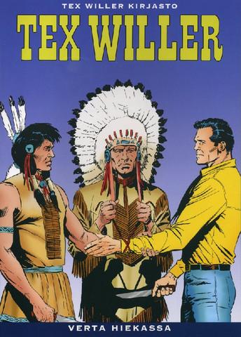 Tex Willer Kirjasto 33: Verta hiekassa