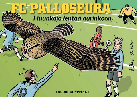 FC Palloseura: Huuhkaja lentää aurinkoon