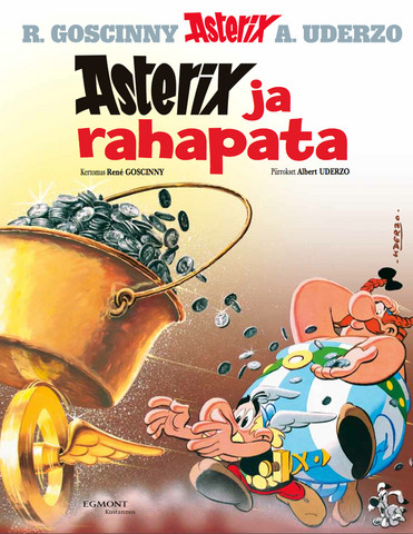Asterix 13: Asterix ja rahapata