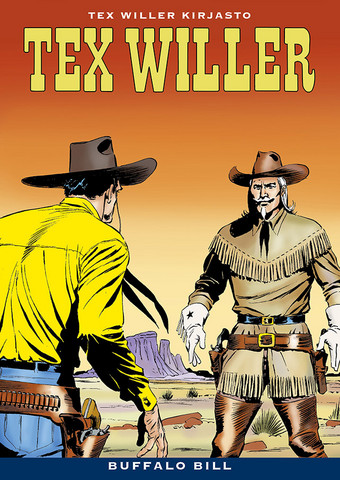 Tex Willer Kirjasto 39: Buffalo Bill