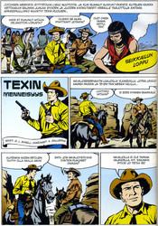 Tex Willer Kirjasto 40: Katkaistu keihäs