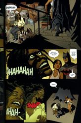 Brian Azzarellon ja Eduardo Risson Batman Deluxe
