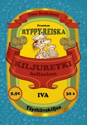 Ryppy-Reiska – Kiljuretki kellarissa