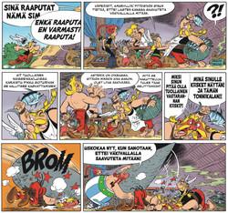 Asterix 38: Asterix ja Vercingetorixin tytär