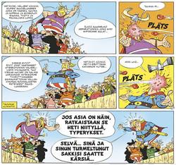Asterix 25: Syvä kuilu