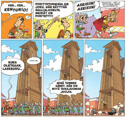 Asterix 21: Asterix ja Ceasarin lahja