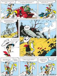 Lucky Luke 32 – Postivaunut