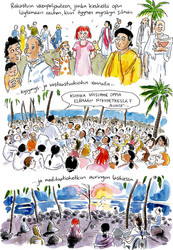 Syliinvaellus Intiaan