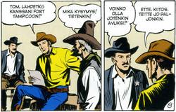 Tex Willer Kirjasto 2: Kiero vakooja Mefisto