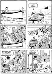 Lehtimies Tintti seikkailee: Musta saari