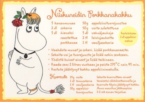 Snorkmaiden's carrot cake