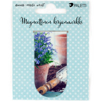 Gardening (magnetic bookmark)