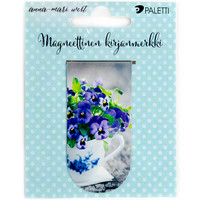 Violets (magnetic bookmark)