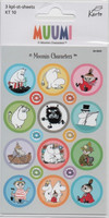 Moomin-stickers (3 sheets) #09