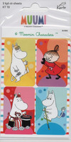 Moomin-stickers (3 sheets) #11