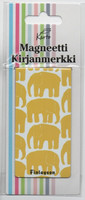 Magnetic bookmark - Finlayson elephants