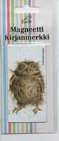 Magnetic bookmark - Owl