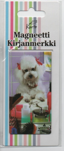 Magnetic bookmark - Cute dog