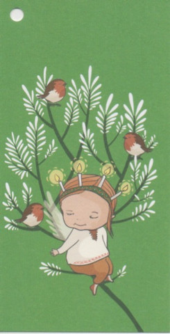 Christmas gift tag - Lucia