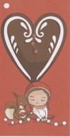 Christmas gift tag - Gingerbread