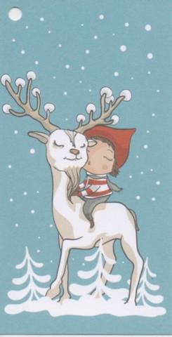 Christmas gift tag - Reindeer