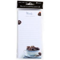 Remember: buy chocolate - magnetic notepaper pad
