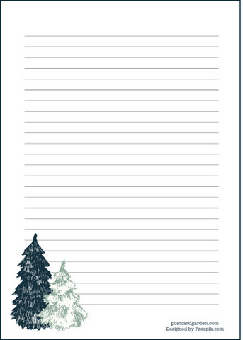 Spruces - writing papers (A5, 10s)