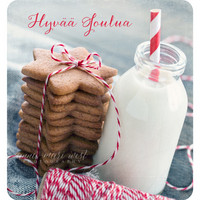 Gingerbreads and milk