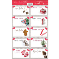 Christmas package labels #1