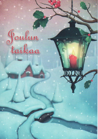 Joulukortti - Joulun taikaa #7