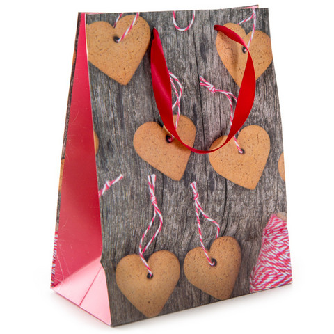 Gift bag - Gingerbread (17,5 x 23,5cm)