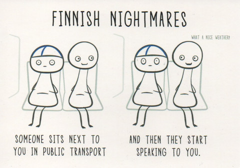 Finnish nightmares - Public transport